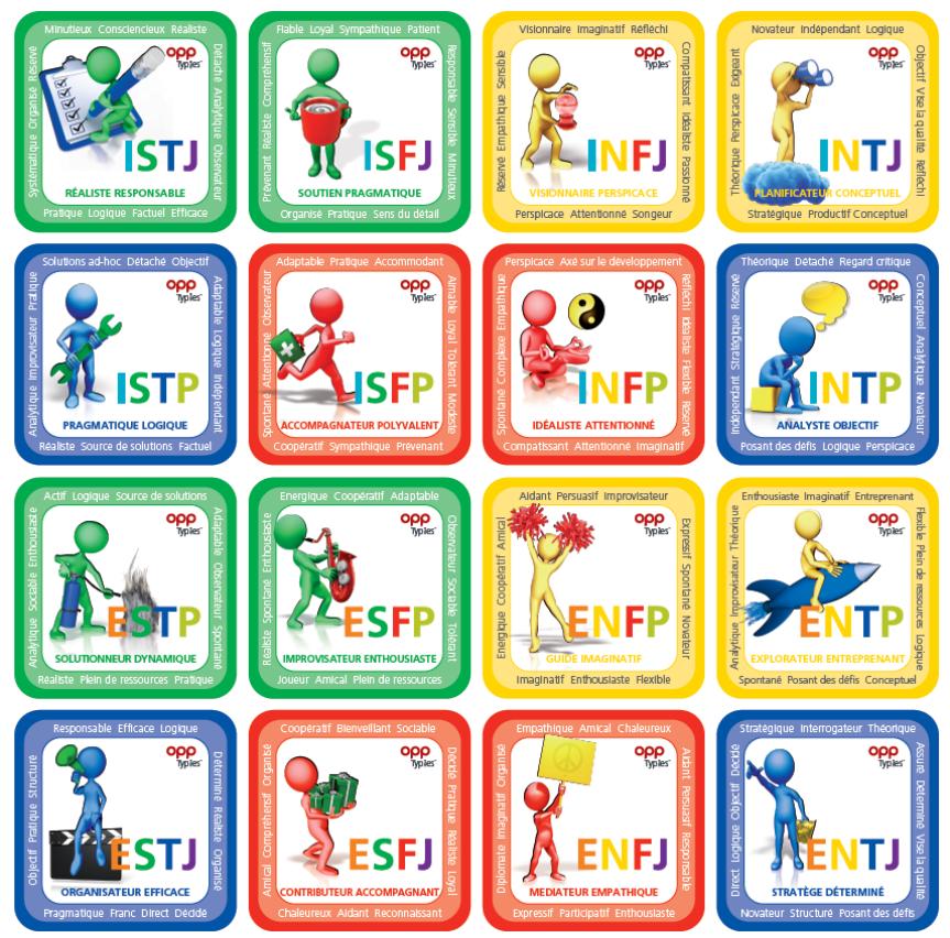 16 types